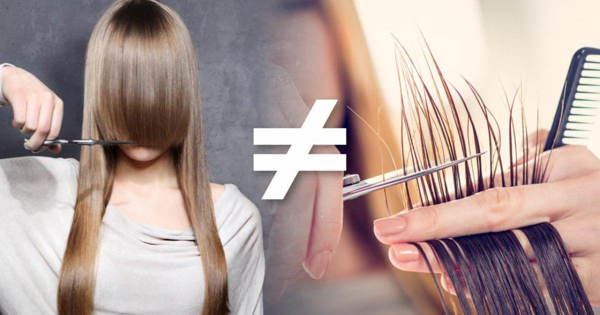 Spitzen Schneiden Ist Kein Haarschnitt Frisörsalon In Hannover
