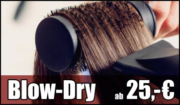 Blow-Dry - Professionelles Styling im Salon